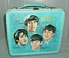 VERY RARE 1965 Beatles Metal Lunch Box Rock Music Group Fab Four Nice Lunchbox