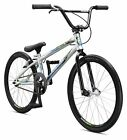 Mongoose Title Expert BMX Race Bike 20-Inch Wheels Silver