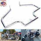 Chrome Front Crash Bar Engine Guard For Harley Heritage Softail Springer Fat Boy