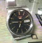 SEIKO 5 Automatic 7S26-3130 Day Date Top condition WIE NEU/LIKE NEW