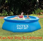 Above Ground Swimming Pool Intex 10 x 30 Easy Setup With Filter Pump Swim