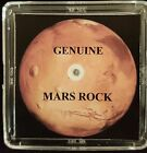 BASIC EDITION AUTHENTICATED MARTIAN METEORITE 5mg Mars Rock Display+Certificate