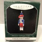 "Hallmark Keepsake Miniature Ornament 1997 Miniature ""Clothespin Soldier"""