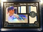 David Wright 2016 Topps Museum Signature Swatch Auto Triple Patch #'d 18 55