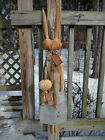 FoLk Art PrimiTive sPriNg Bunny Raggedy RABBIT Button CHICK DOLL DecoraTion TaG