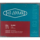 DEF LEPPARD Slang CD UK Bludgeon Riffola 1996 1 Track Promo In Special Sleeve
