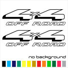 2x 4x4 Off Road Sticker Vinyl Decal - Truck Bed Side F150 Super Duty Fx4 Car