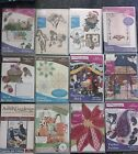 NEW Anita Goodesign Embroidery Quilting ProjectsTitles H thru V YOU CHOOSE