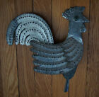 Antique Vintage Metal, Tin, Zinc? Rooster Folk Art Weathervane? Yard Ornament?