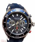 NAUTICA MEN'S CHRONOGRAPH SPORTS WATCH, NEW IN BOX, MODEL NAD13548G,