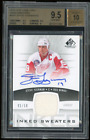 BGS 9.5 2013-14 SP Game Used Inked Sweaters Steve Yzerman Auto Patch 10 Pop 1