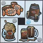 Vintage Classic Set of 4 Mello Smello Scratch  Sniff Stickers Root Beer