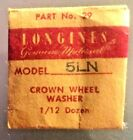 LONGINES 5LN CROWN WHEEL WASHER, PARE NUMBER 29 NOS.
