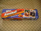 1993 Topps Factory Set Box Series I & II Open with Bonus Cards