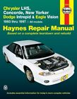 Repair Manual fits 1993-1997 Eagle Vision  HAYNES