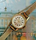1950s Ladies DUGENA Swiss 14 Karat 585 Gold Wind Up Wrist Watch