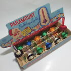 12 Vtg Paramount Saucer Christmas Bubble Bubbling Lights with Box 3 are Purple