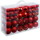 100PC Christmas Xmas Tree Ball Bauble Hanging Home Party Ornament Decor