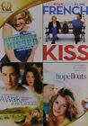 Never Been Kissed French Kiss A Walk in the Clouds Hope Floats DVD NEW