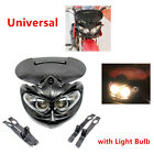 Motorcycle Bikes Motocross Headlight Fairing Light Dual Street Fighter with Bulb