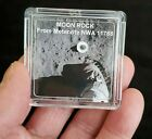 DELUXE EDITION MOON ROCK DISPLAY LUNAR METEORITE +EASEL +CERTIFICATE  fs