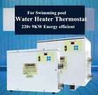 9KW Electric Water Heater Thermostat for Swim Pool SPA Massage Spring USA 220V