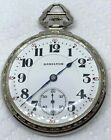 Gorgeous 1924 Hamilton 992 in Pristine White Gold Cross Bar Case. Serviced.