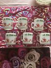 Tom And Jerry Milk Glass 6 Piece Cups  Mugs 6