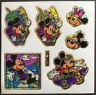 Vintage Stickers Disney Mickey Mouse 3 x 3 Mint Condition