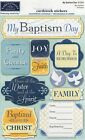 Karen Foster MY BAPTISM DAY cardstock stickers Beautiful Quick ship