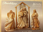 Foundations by Enesco Nativity Four Piece Set NEW