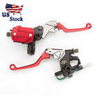 USA For Suzuki LTZ400/450 250SB RMX250S Brake Master Cylinder Reservoir Levers