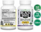 Black seed oil softgels 1000mg Organic Black Cumin Oil 120 capsules cold pressed