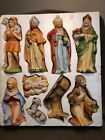 HOMCO 12 pc Nativity Scene 5216  Animal Set 5552 Crche Manger Baby Jesus