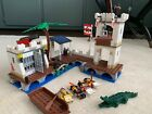 Lego Soldiers' Fort Pirate Jail 6242 - Retired (Mostly Complete) See Description