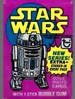 1977 TOPPS STAR WARS 3 COMPLETE SET W 66 Cards, 11 Stickers & Wrapper Ex NM