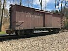 Bachmann G Scale Linville River Boxcar Weathered