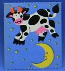 Sandylion Vintage 80s 90sRare COW JUMPED OVER THE MOON Stickers HTF