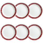 Durable Bandhani Round 85 Lunch Plate Microwave Oven Safe Set of 6