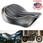Wide Front Rider Driver Solo Seat For Harley Sportster XL883 XL1200 48 2004 2015