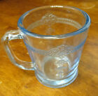 40s Vintage Fire King Sapphire Blue Philbe Mug OVEN GLASS - Good Color D Handle