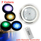 LED Swimming Pool Spa Lights 54W RGB Multi color 24V Underwater Light Stainless