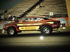 FORD 1970 Pro Stock Maverick 427 SOHC Cammer MR ROLLBAR Drag Car and NOS Parts