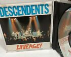Liveage! by Descendents (CD, Jan-1988, Oop Punk All Humble Gods Mind Over Four