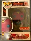 Funko Pop Vision Faded Target Excl Avengers 2