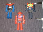 rare vintage diecast mini shogun warriors robots poseidon dragon mazinga popy