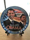 Barack Obama 44th President A Dream Fulfilled Commemorative Collectors Plate