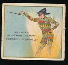 1910 T97 Perfection Cigarettes RIDDLE SERIES #26 Harlequin w/ mask