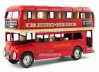 CLASSICS Red London Classic Double Decker Bus Diecast Metal Desk Model Toy Gift