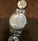 Swatch Irony Dial Stainless Steel Ladies Watch